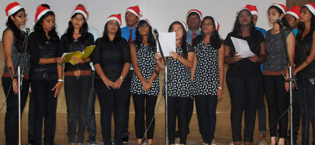 st marys centenary degree college secunderabad christmas carols